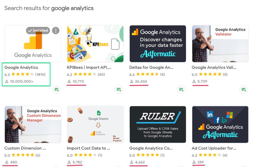 Google Analytics add-on alternatives