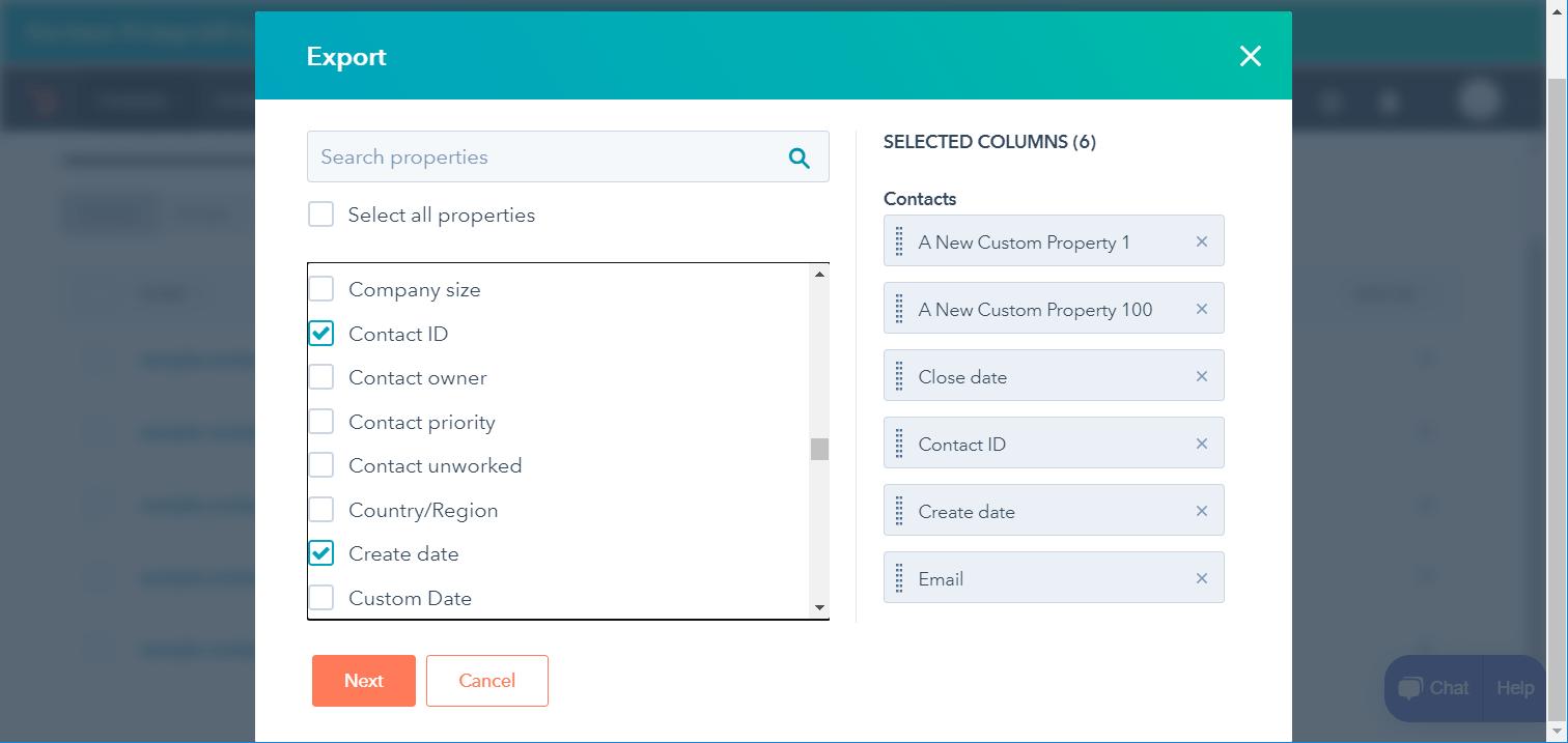 Select Properties