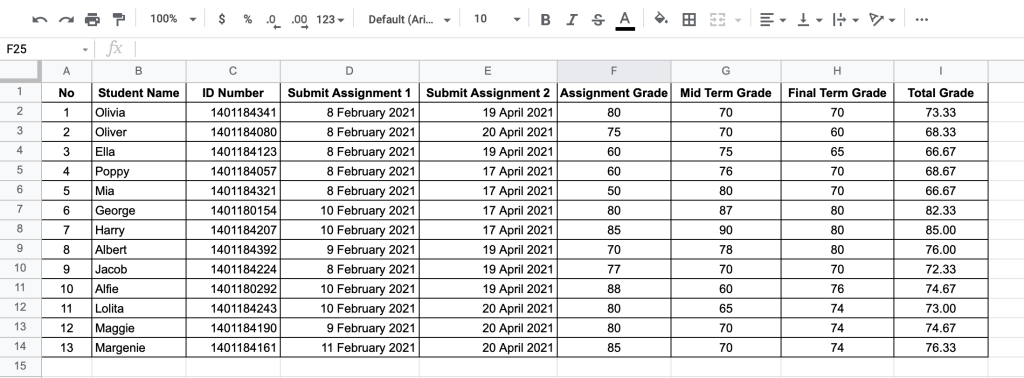 Change default date format data