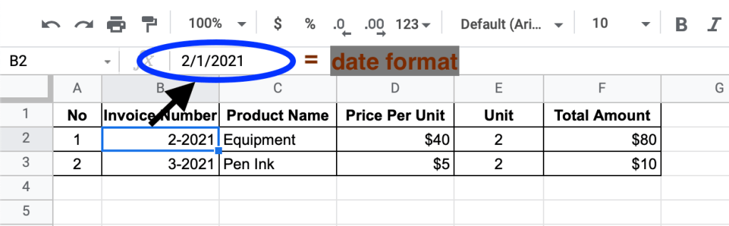 Automatically changed format to date in Google Sheets