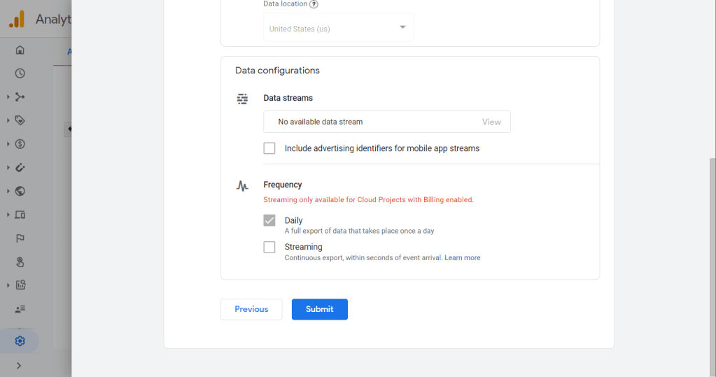 """Review your configuration and click """"Submit""""."""