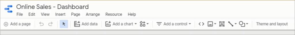 Figure 20. The toolbar