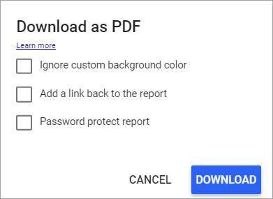 Figure 55. Download report