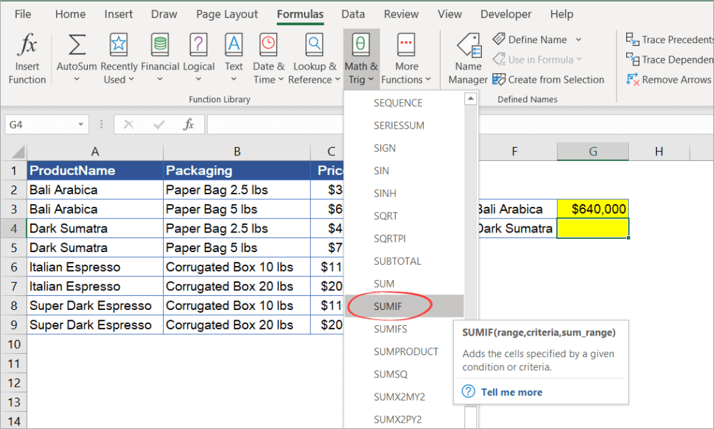 Figure_3_3_Inserting_SUMIF_from_the_ribbon_menu