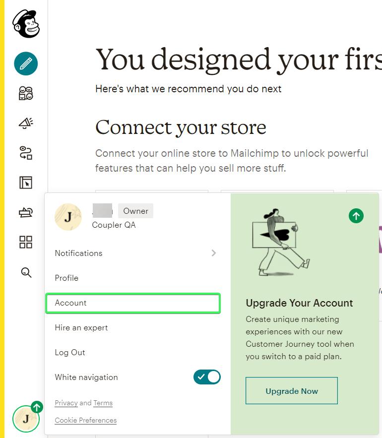 1-mailchimp-account