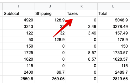 11 - shopify tax export