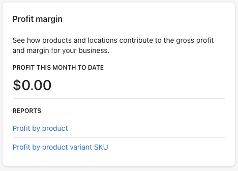 16 - shopify profit reports