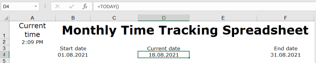 21-today-function-excel