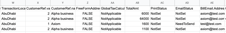 22 - quickbooks export time example