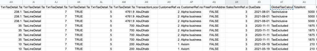 27 - quickbooks export invoice example